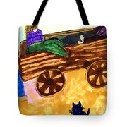 Fall Wagon Ride Tote Bag