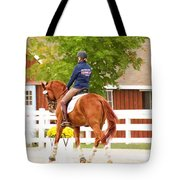 Fall Warmup Tote Bag