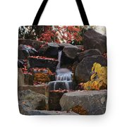 Fall Waterfall Tote Bag