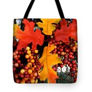 Fall Wreath Tote Bag