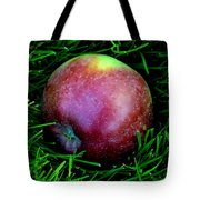 Fallen Apple Tote Bag