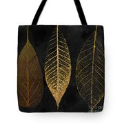 Fallen Gold II Autumn Leaves Tote Bag