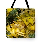Fallen In The Evergreen Tote Bag