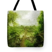 Fallen Tree Tote Bag