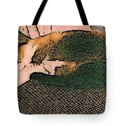 Falling Asleep On The Couch Tote Bag