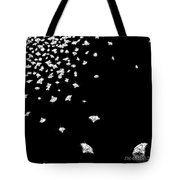 Falling Diamonds Tote Bag