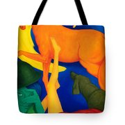 Falling Down. Tote Bag