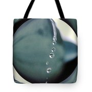Falling Droplets   Tote Bag