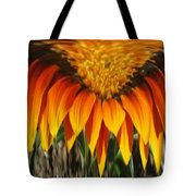 Falling Fire Tote Bag