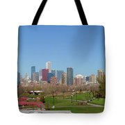 Falling For Chicago Tote Bag