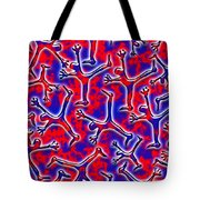 Falling Into The Abyss Tote Bag