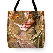 Falling Leaves Tote Bag by John Edwards