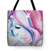 Falling To Pieces Tote Bag
