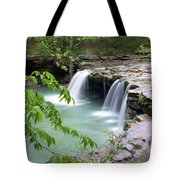 Falling Water Falls 4 Tote Bag by Marty Koch