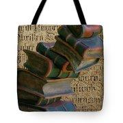 Falling Wisdom Tote Bag