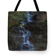 Falls At 6 Mile Creek Ithaca N.y. Tote Bag