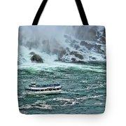 Falls Boat Tote Bag