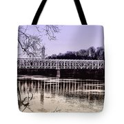 Falls Bridge Tote Bag