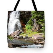 Falls Glacier National Park1 Tote Bag