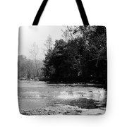 Falls In Creek Downstream From Glen Tote Bag