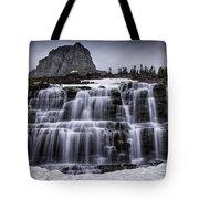 Falls In Glacier 1 Tote Bag