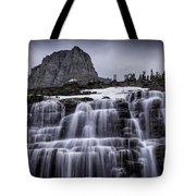 Falls In Glacier Tote Bag
