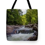 Falls In The Mountains Tote Bag