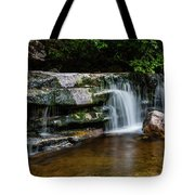 Falls Of Peterskill In Spring I - 2018 Tote Bag