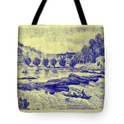 Falls Of The Schuylkill And Fort St Davids 1794 Tote Bag