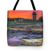 Falls Park Sunset Tote Bag
