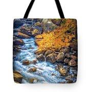 Fall's Rush To South Lake Tote Bag