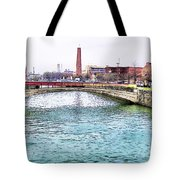 Fallswalk And Shot Tower Tote Bag