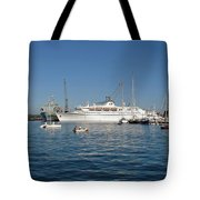 Falmouth Harbour Tote Bag by Rod Johnson