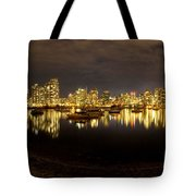 False Creek At Night Tote Bag