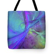 False Dimension Of Heaven Tote Bag