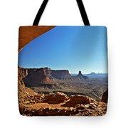 False Kiva Moab Utah Tote Bag