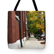 Familair Streets To An Old Women Tote Bag