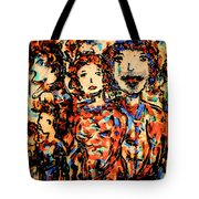 Family And Friends Tote Bag