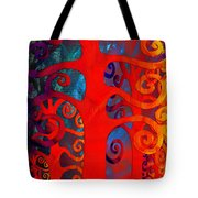 Family  Tote Bag by Angelina Vick