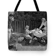 Family Bbq, C.1960s Tote Bag