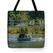 Family Boating If Forest Park Tote Bag