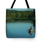 Family Fishing Tote Bag