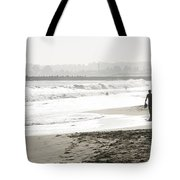 Family Fun At The Beach Tote Bag