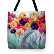 Family Gathering Painting By Lisa Kaiser Tote Bag