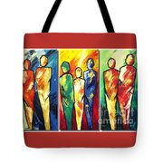 Family Geniration Art Tote Bag