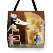 Family Mouse Tote Bag