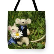 Family Mouse On The Spring Meadow .1. Tote Bag