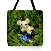 Family Mouse On The Spring Meadow Tote Bag