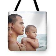 Family Of The Ocean Tote Bag