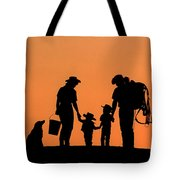 Family Of The West Tote Bag